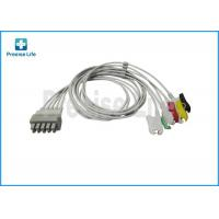 Quality Drager 5956466 ECG trunk cable , Dual pin connector 5 lead ECG Cable for sale