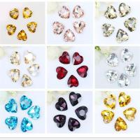 Quality Pointed Back Love Shaped Sizy Rhinestones Crystal Glass Bikini Furniture Embellishment Handmade Craft Fittings Trimmings for sale