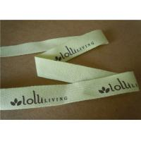 Buy Light Weight Cotton Webbing Tape Woven Jacquard Ribbon Printing Colored at wholesale prices