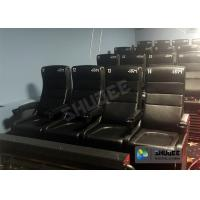 Quality Large Screen 4D Cinema System With Comfortable Pure Hand-Wrapped PU Leather Motion Seats for sale