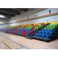 Buy cheap Floor Mounted Football Stadium Bleachers , Retractable Bleacher Seating With from wholesalers