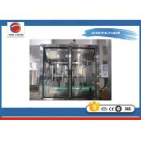 Quality Commercial Soybean Oil Bottle Filling Machine , Lube Oil Filling Machine PLC Control for sale