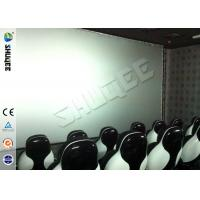 Buy Genuine Leather Convenient 6D Movie Theater With 3DOF Motion Chairs at wholesale prices