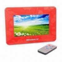 Quality 7-inch Digital Photo Frame with -5 to 50°C Operating Temperature for sale