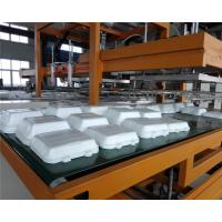 Quality Mechanical Arm PS Foam Food Container Production Line Water Absorption Styrofoam Plate Making Machine for sale
