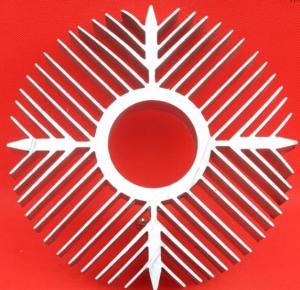 Quality Sunflower High Efficiency Extruded Aluminum Heatsink For Ceiling Light Radiator for sale