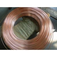 Coppered welded steel pipe / carbon steel tube for household refrigeration system for sale