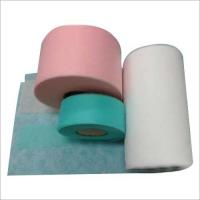 Quality PLA Hot Air Through Nonwoven Fabric Hot Water Soluble Color Customised for sale
