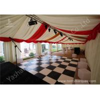 Quality Custmized Outdoor Tents Marquee Luxury Decoration for Wedding Parties for sale
