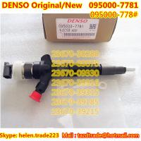 Quality DENSO Injector 095000-7781/23670-30280/23670-09070/23670-09330/23670-39316/23670-39315 for sale