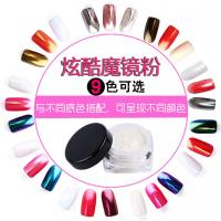 Buy cheap High Quality nail mirror effect chorme powder pigment for nail gel polishes from wholesalers