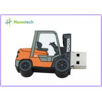 China Forklift Style 64g Customized Usb Flash Drive / Pen Drive Usb 2.0 Support Windows ME / XP on sale