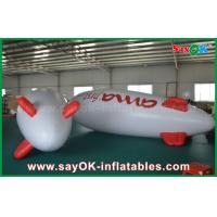 Quality 5m Floating Advertising Inflatable Balloon Helium Airplane Zeppelin For Promotion for sale