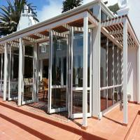 Quality Wide Space Aluminium Folding Doors For House High Thermal Performance for sale