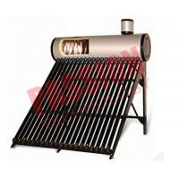 China 0.5 Bar High Powered Pre Heated Solar Water Heater Rooftop With Feeding Tank on sale