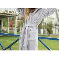 Quality Extrem Soft Polar Coral Fleece Hotel Quality Bathrobes For Men And Woman for sale