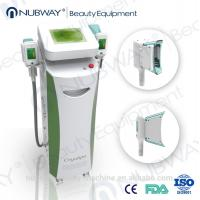 China Cryo Lipo Cooling Fat Freezing Machine with RF Cavitation Handles on sale