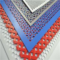Quality Decoration Perforated Metal Sheet for Construction for sale