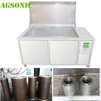 Quality Filter Ultrasonic Cleaner, Filter Washing / Cleaning Machine to Remove Oil  Dust Rust Carbon Dirt for sale