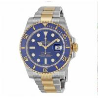 China Rolex Submariner Blue Index Dial Oyster Bracelet Mens Watch 116613BLSO on sale