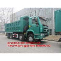 China 336/371HP Sinotruck Howo White/Red Obama Model  Heavy Duty Dump Truck For Ethiopia Djiouti, RHD/LHD on sale
