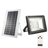 20W Solar flood light 40 LED white light waterproof IP65 rechargeable Energy light with remote control for sale