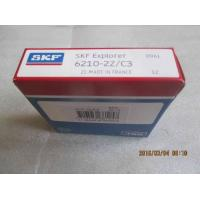 Quality Deep Groove Radial ball bearings 6210-2Z/C3 single row steel shields both sides for sale