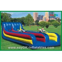 Quality Colorful Inflatable Water Toys Funny Water Slide For Kids Amusement Park for sale