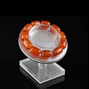 Quality Floor Custom Jewellery Display Stands Slanting Acrylic Storage TraysBracelet Holders for sale