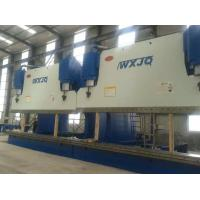 1200 Ton CNC Press Brake Bending Light Pole With 14 Meters Electro Hydraulic Servo System