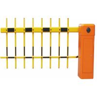 Quality Intelligent Fence Traffic Barrier Gate With 180 Degree Folding Arm for sale