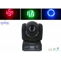 Quality 10W LED Beam Moving Head Light , Led Spot Light with 7 Gobo Stage Lighting for DJ  Wedding Party for sale