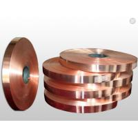 China High - Precision Rolled Copper Foil For Electronics Shielding / Heat Radiation on sale