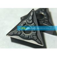 CNC Carbide Turning Inserts For Stainless Steel Finishing Triangle Carbide Inserts