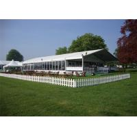 Durable Great Peak Clear Wedding Tents Wind Resistant Environmentally for sale