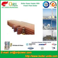 Quality Low Pressure Boiler Super Heater Alloy Steel , Pendant Superheater Customized for sale