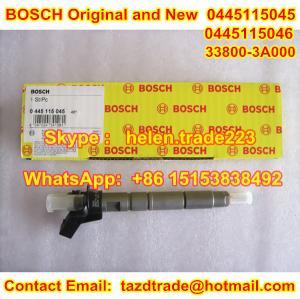 Quality BOSCH Original Injector 0445115045 /0445115046 /33800-3A000 / 338003A000 for HYUNDAI, KIA for sale