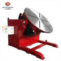 Quality Rotary And Tilting Manual Welding Positioners , 5000 kg Electric Rotary Welding Positioner for sale