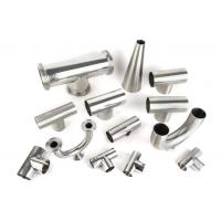 Quality Mirror polished sanitary stainless steel pipe fitting Material 3A/DIN/SMS/ID SS304,SS316-Accesorios sanitarios for sale