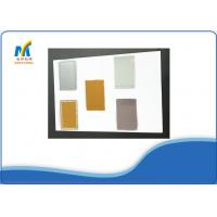 Buy Delicate Golden Sublimation Social Metal Business Cards VIP Cards at wholesale prices