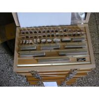 Quality Well Grounded Precision Gauge Block Set with Carbide steel 47PCS  Metric System for sale