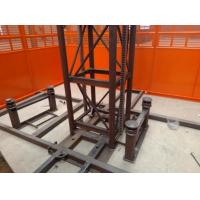 Quality Custom Size Construction Hoist Elevator With Multiple Choices Of Doors for sale