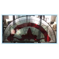 Quality Leaded window glass  with patina caming for sale