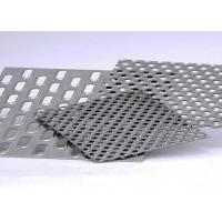 Quality Galvanized Round Hole Aluminum Perforated Sheet With Corrosion Resistance for sale