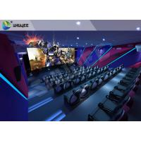 Buy Smart Impressive 4D Movie Theater With first class electronic seat at wholesale prices