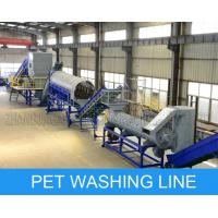 China CE ISO9001 PET Bottle Recycling Machine Crushing Washing And Drying Line on sale