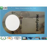 0.15mm Mirror PC Membrane Switches Graphic Overlays With Silver Effect Silk Screen Print