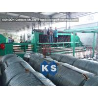 Quality 22Kw High Efficiency Gabion Box Machine With 4.9mm PVC Wire / 80mmx100mm Mesh for sale