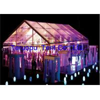 Heavy duty tent, transparent roof cover, aluminum frame,  multipurpose clear span tent for sale