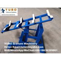Quality Pushcart for rotogravure printing machine cylinder transport for sale